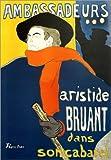 Poster 30 x 40 cm: Ambassadeurs, Aristide Bruant von Henri