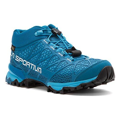 La Sportiva Women's Synthesis Mid GTX Hiking Shoe, Fjord, 38 M EU