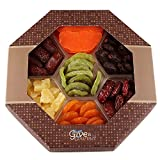 GIVE IT GOURMET, Dried Fruit Gift Baskets, Holiday fruit box, Gourmet Food Gifts, Prime Delivery Great for Birthday Christmas Mothers & Fathers Day, Fruit Gift Box for Men Women Families (Large)