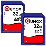 QUMOX 2x 32 GB SDHC 32 GB classe 10 UHS-I Scheda di memoria digitale sicura