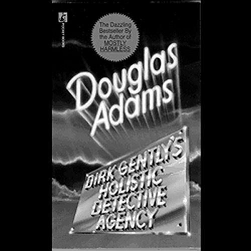 Dirk Gently's Holistic Detective Agency audiobook cover art