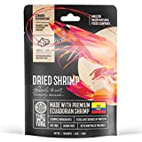The Inca Trail Shrimp Jerky – Healthy and savory cured dried seafood snack – Exquisite and Rare natural Ecuadorian dehidrated ocean delight – 1.6oz Pack (Garlic flavor)
