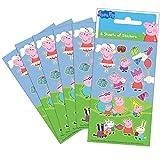 Paper Projects 01.70.15.035 Peppa Pig Party - Juego de pegatinas (6 hojas)
