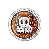 andante chunk click-button bottone a pressione (puppy) per bracciali chunk, anelli chunk e altri accessori chunk