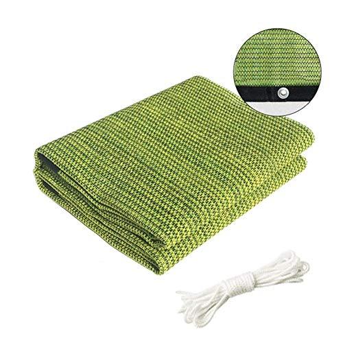 Ljdgr GRW-Bâche Sunshading Net Balcony Patio Housses pour chenil écran Solaire, succulentes Plantes, 2 Tailles (Couleur: Vert, Taille: 0.9X1M) Fournitures de Jardin (Color : Green, Size : 0.9X1M)
