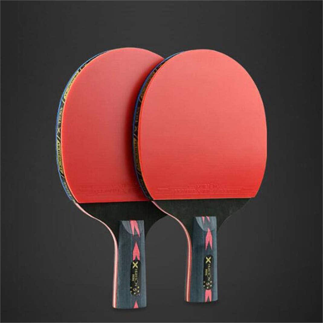 #N/A Pala de ping pong de mesa, potente pala para entrenadores, aficionados y expertos, grabación horizontal