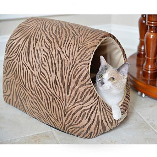 TIANPIN kattennest vier seizoenen universeel kattennest huisdier winter warme kat slaapzak diepe slaap kattenvoorziening