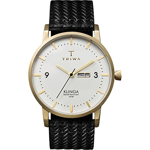 Triwa Ivory Klinga Unisex Day and Date Watch...