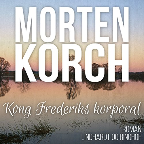 Kong Frederiks korporal audiobook cover art
