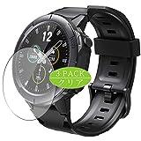 VacFun 3 Piezas HD Claro Protector de Pantalla para Arbily SW01 Smartwatch Smart Watch, Screen Protector Sin Burbujas Película Protectora (Not Cristal Templado)