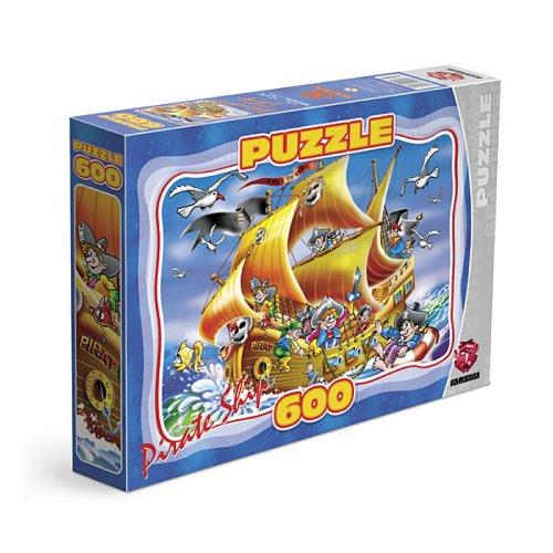 Maxim Pirate Ship Jigsaw Puzzle (600 Pieces)