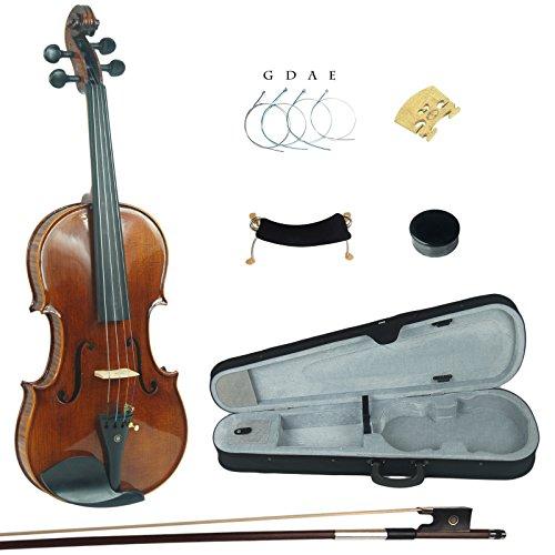 Kinglos 4/4 Fatto a Mano In Legno Massello Alunno Acustico Violino Kit - PHB1004