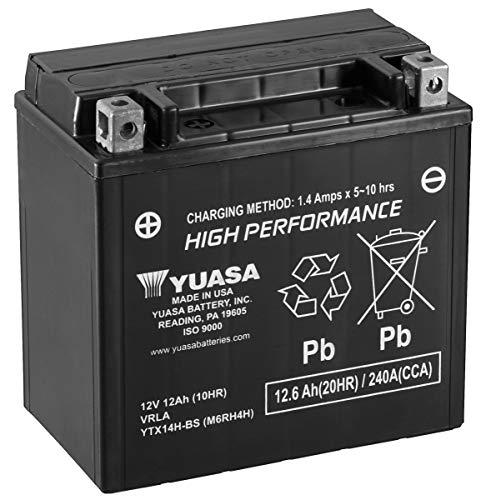 Yuasa ytx14h-bs batteria