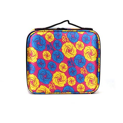 Beauty Case,Vococal-Porta Trucchi Borsa Trucco Professionale Portable Travel Cosmetici Case Sacchetti di Stoccaggio,C