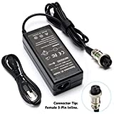 MX350 E100 E175 36W Electric Scooter Battery Charger for Razor E200 E200S E125 E225 E300 E325 E350 E400 E150 E500 PR20 MX400 ZR350 E500S, Pocket Mod, Sports Mod and Dirt Quad 3-Prong Inline-24V 1.5A