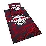 RB Leipzig Blizzard Bed Sheets, Rot Unisex One Size Fleecedecke, RasenBallsport Leipzig Sponsored by Red Bull Original Bekleidung & Merchandise
