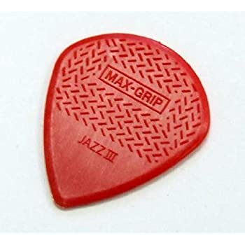 JIM DUNLOP MAXGRIP JAZZ III/RED ピック ×12枚