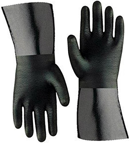 Artisan Griller BBQ Insulated Heat Resistant Cooking Gloves for Grill and Kitchen, Black (Size...