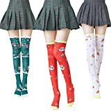 Best Knee High Compression Socks - 3 Pair Knee High Compression Christmas Socks Review