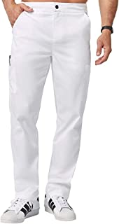 white uniform pants