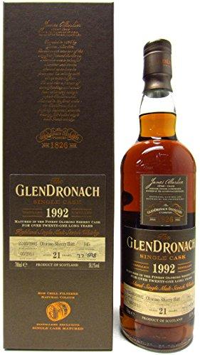 Glendronach - Single Cask #598 - 1992 21 year old Whisky