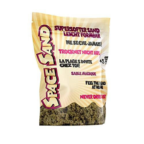 Leo & Emma Space Sand 950 Grammi, Sabbia Cinetica per Bambini Magica Colorata Modellabile Sand Giochi per Ragazzi e Ragazze, Molti Colori (Marrone)