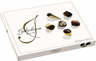Jakobsen Milk and Dark Chocolate Variety Box 225 g