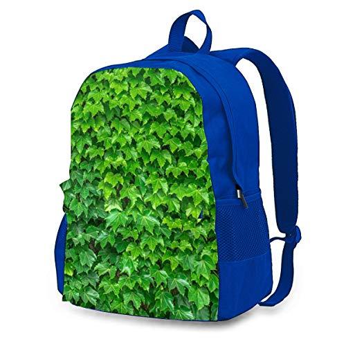 The Leaves Pflanzen Rucksack Rucksack Umhängetaschen Leichte Sporttasche zum Wandern Yoga Fitnessstudio Schwimmen Travel Beach 12.6x16.5 Zoll