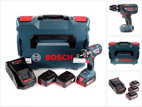 Bosch Akku-Bohrschrauber 06019H4103 GSR 18-28 3x3,0 Ah-L-Boxx, 1 W, 18 V
