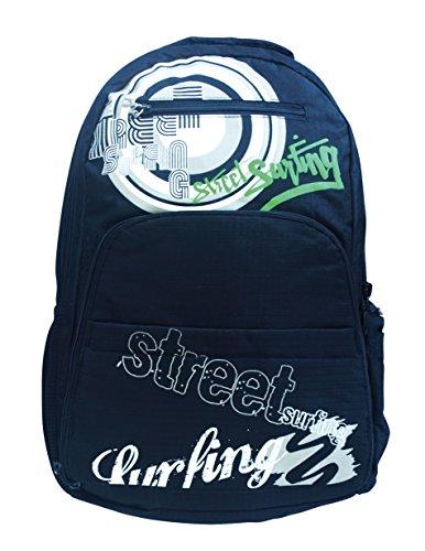 Unsquashable Squash-Schläger Streetsurfing Rucksack Backpack Ventura, Schwarz, 500998