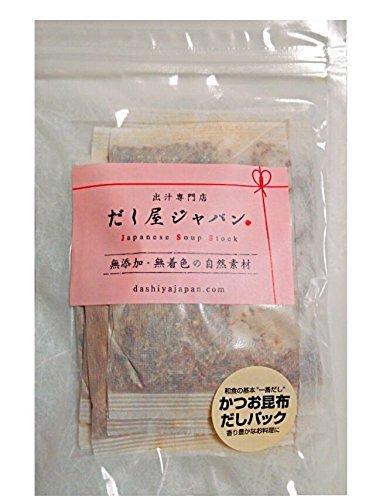 【七草粥のお出汁】基本のおだし かつお節 昆布 一番だし 無添加 国産原料 (だしパック 10g×10個)