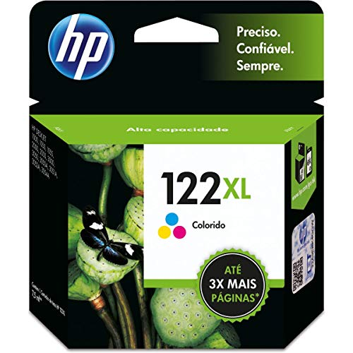 Cartucho HP 122XL Colorido Original - (CH564HB)