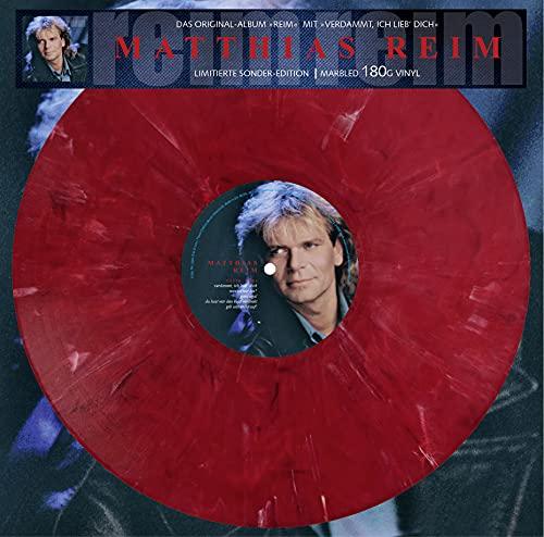 Reim - Limitiert - 180gr. marbled Vinyl // Verdammt, ich lieb Dich [Vinyl LP]
