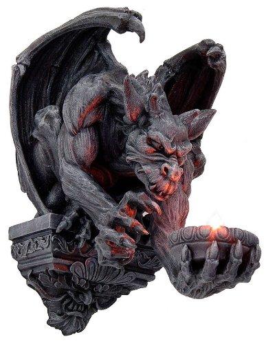 Wandlicht Teelichthalter Gargoyle Gothic Drachen