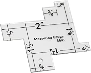 VViViD 14-in-1 Quilting & Sewing Measuring Gauge Ruler Template
