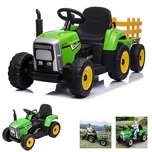 FXQIN Pedal Tractor Juguete de Montar para Niños +3 Años Tractor Eléctrico...