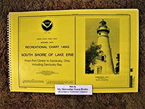 NOAA RECREATIONAL CHART 14842 SOUTH SHORE OF LAKE ERIE