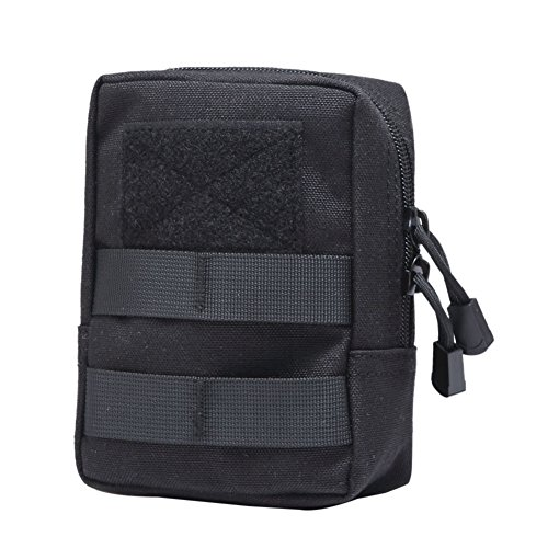 Someas Nylon 1000 Molle Tactical Pouch for Camping, Hiking Outdoor Waist Pouch