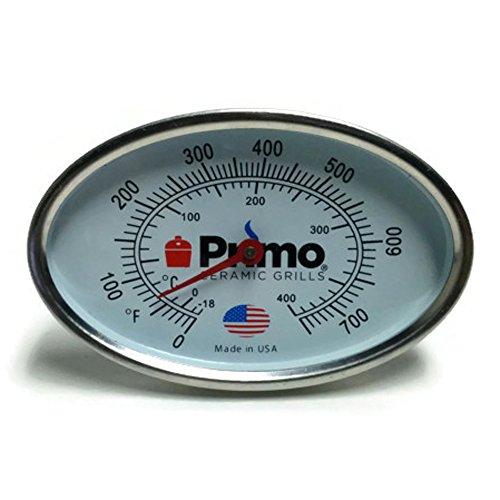 Primo Grill Thermometer für Primo Keramik Grills–Jetzt 200% größere und die Fähigkeit zu kalibrieren