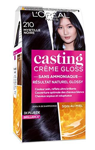 L'Oréal Paris Casting Crème Gloss Coloration Ton Sur Ton Sans Ammoniaque 2.10 Myrtille Noire