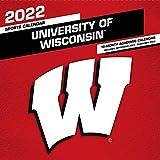 Wisconsin Badgers 2022 12x12 Team Wall Calendar