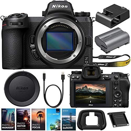 Nikon Z6II Mirrorless Digital Camera (Body Only) Bundle + Premium Video & Photo Editing Software Package