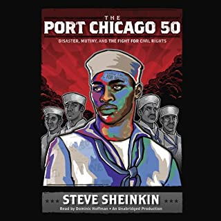 The Port Chicago 50 audiobook cover art
