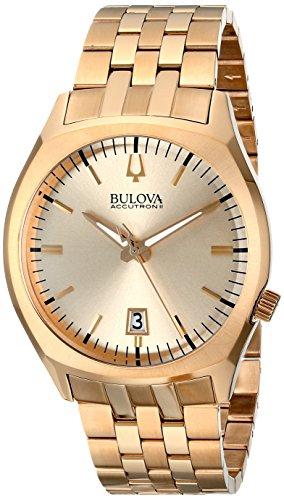 Bulova Unisex Unisex Accutron II - 97B134 Gold Tone Watch