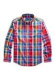 Polo Ralph Lauren - Camisa Fall I Red MU-LS BD-TP-SHT-Camisa para NIÑO Ralph Lauren