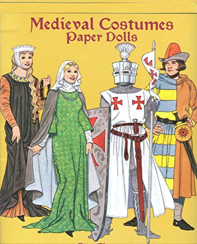 Medieval Costumes Paper Dolls: Children\'s Picture Book (English Edition)