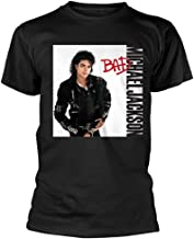 michael jackson bad tee shirt