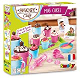 Smoby Chef - Mug Cakes - Kit pour Réaliser des Gâteaux + Livre de Recettes - Atelier de Cuisine Enfant - Dès 5 Ans - 312101