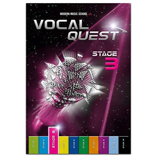 Vocal Quest Stage 3: Singen lernen Anfänger Fortgeschrittene.Stimmtraining und Stimmbildung für Sänger. Gesang Rock & Pop. Singschule, Gesangschule mit Bonusmaterial (DEU)