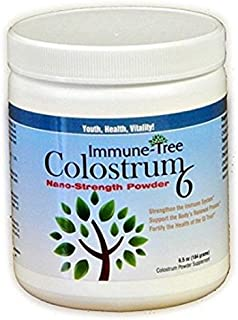 Immune Tree Colostrum6 Powder, Certified 6-Hour Colostrum, 6.5oz
